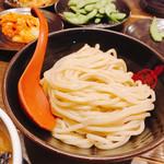 三田製麺所 - きれいに盛ってますネ(╹◡╹)