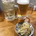 うず食堂 - ハイボール  330円  生ビール  480円