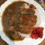 グリーンハウス - カツカレー    780円税抜