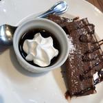 グリーンハウス - チョコケーキ  モーニング   ドリンク代+0円