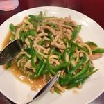 やぜず - 料理写真:青椒肉絲