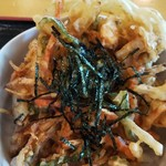 漁師食堂 - かき揚げ丼