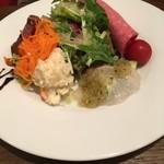 Kitchen Ichimatsu - スペシャルセット2300円の前菜