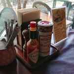 農家レストラン みのりの里 - カスターセット