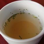 農家レストラン みのりの里 - ピッツァのスープ