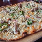 農家レストラン みのりの里 - ライ麦のピッツァ1,650円