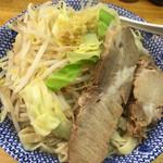 らーめん きじとら - 料理写真:塩ラーメン 太麺 大盛(400g)