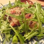 松 - 豚ロースときのこの温かいポテトサラダ¥850
