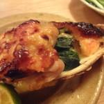 松 - かきと海老の白味噌グラタン 二ヶ¥900