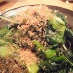 松 - 青菜炒め¥700