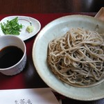 生蕎庵 - 料理写真:もりそば大盛
