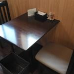 生蕎庵 - 利用したテーブル席