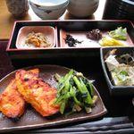 卯乃家 - ぶぶ漬け定食(魚)