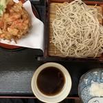 櫻屋 - 【2019.4.20】桜天ぷらそば1550円