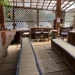 櫻屋 - 【2019.4.20】簡易な喫茶スペース。