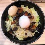 ラーメン ポール亭 - 料理写真:マゼそば+味玉トッピング