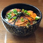 麺房大喜 - 焼豚丼