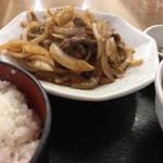 珉珉 - ・ジンギスカン定食