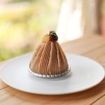 喫茶室 山脈 - 料理写真:山脈モンブラン☆