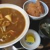 大衆食堂正広 - 料理写真:カレーラーメンとミニタレカツ丼のセット
