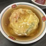 餃子の王将 - ジャストサイズ天津飯