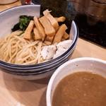 人形町 麺や わたる - つけ麺メンマトッピング