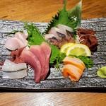 旬海佳肴 一家 - 本日の5点盛り   980円