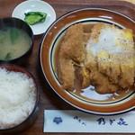 乃ざ喜 - かつ丼