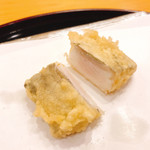 天ぷら 車 - 太刀魚