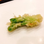 天ぷら 車 - タラの芽