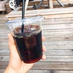 サタデーズ ニューヨークシティ トウキョウ - ドリンク写真:アイスコーヒー