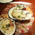 イタリアンバル UOKIN - 海の幸のカルパッチョ6点盛り合わせ…980円