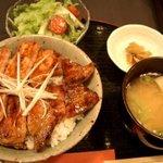 日本橋燻とん - 豚丼セット