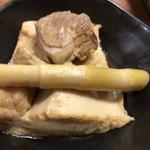あしたば荘 - 鶏肉の煮物!