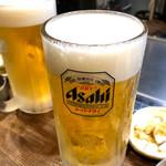 本格広島お好み焼き たにもと - 生ビール