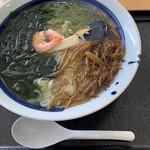 レストラン汐菜 - 海磯ラーメン 990円