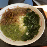 レストラン汐菜 - 海そうラーメン 700円