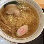 レストラン汐菜 - 醤油ラーメン  580円