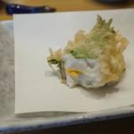 割烹 天ぷら よこい - すずき