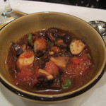トラットリア デル チェーロ - 岩蛸のトマト煮ナポリ風