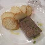 トラットリア デル チェーロ - 地鶏レバーのパテ