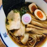 阿波尾鶏中華そば藍庵 -