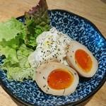魚輝水産 - 魚輝ポテトサラダ。
