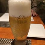 パノラミカ - ドリンク写真:生ビール