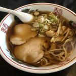 中華そば 横山 - 中華そば(太麺)アップ