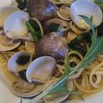イタリア料理 ベルコルノ - ハマグリと菜の花のボンゴレ