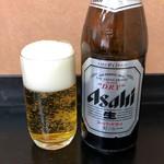 とんかつ 吉兆 - ビール中瓶510円
