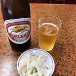 中華丸長 - 瓶ビール 530円