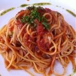 蔵の木 - スパゲッティーニ、トマトソース。