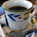 蔵の木 - ランチに付くコーヒー。